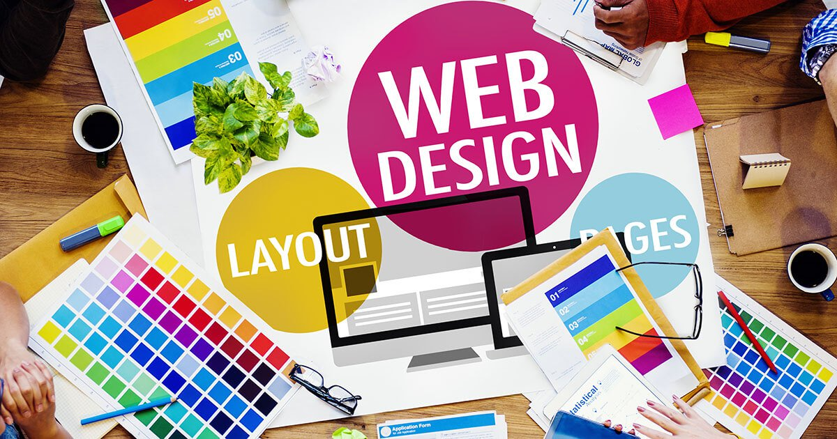 create a full website for your business