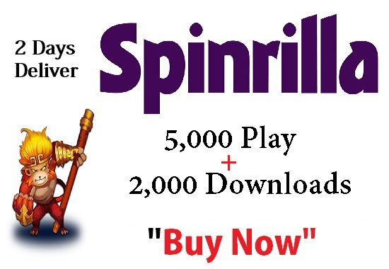 spinrilla single 5,000 play + 2,000 downloads single ...