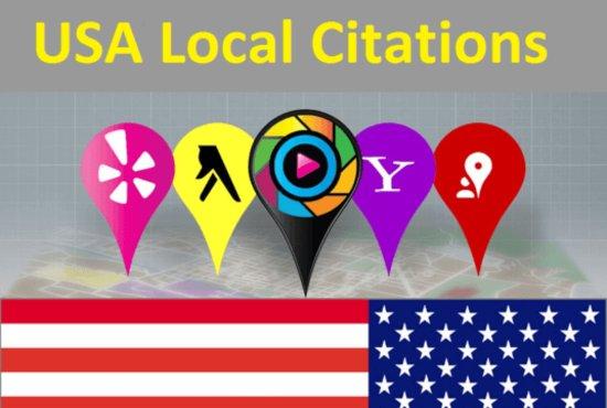 Created Top USA Local Citations