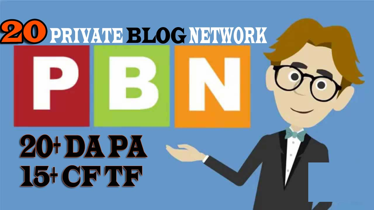 Homepage 20 High CF TF Private Blog Network SEO Services
