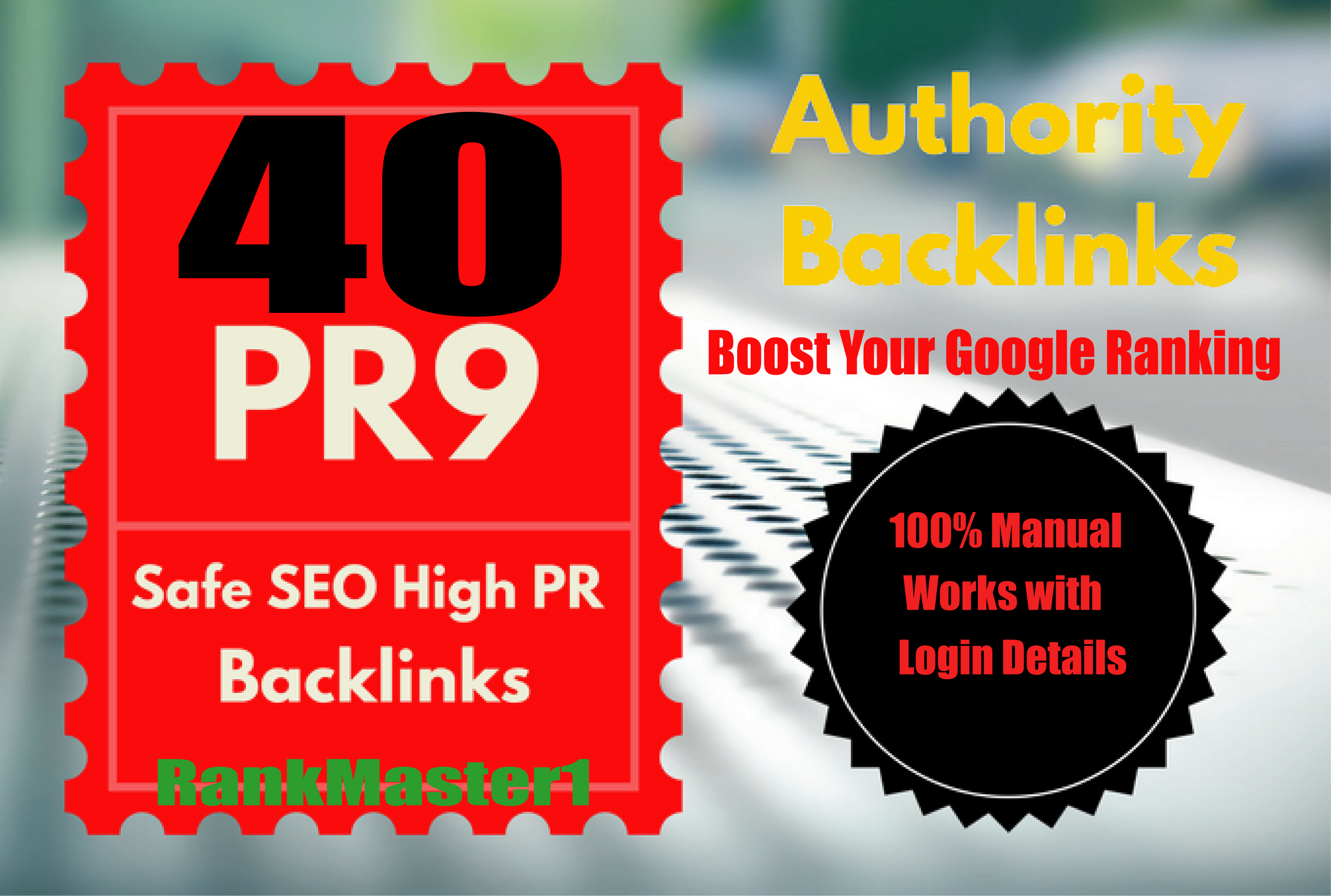 Build 40 PR9 DA 70-100 SEO Backlinks High Trust Authority Domain Permanent Links SERP Results