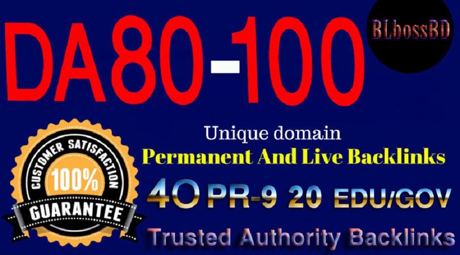 Build 80+DA SERP SEO Profile Backlinks Create For Ranking your Website,URL or Blog