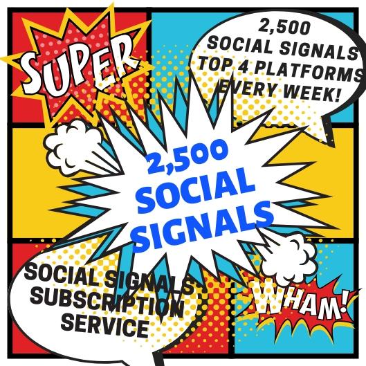 2500+ Drip Fed Social Signals Service - Builds Top Social Signals