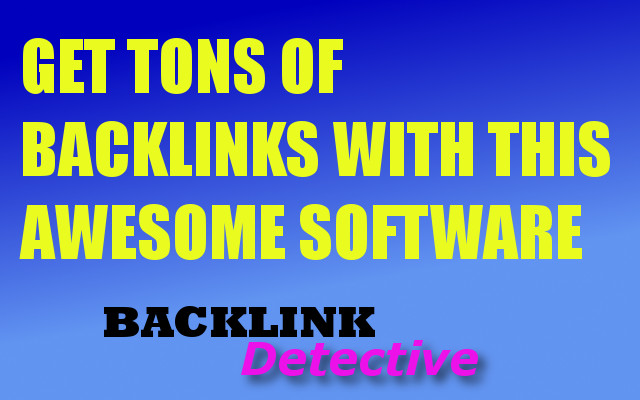 Shoot to the Top of Google and Bing with this Awesome Backlink Software - Including edu links too