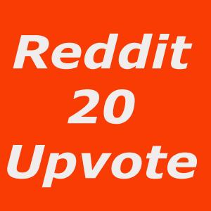 Instant start 20 Global upvote on Reddit post or Comm...