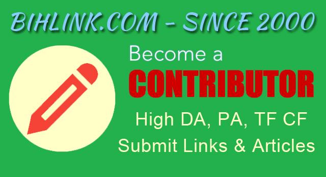 Contributor Account At HQ High DA PA TF CF Viral Blog