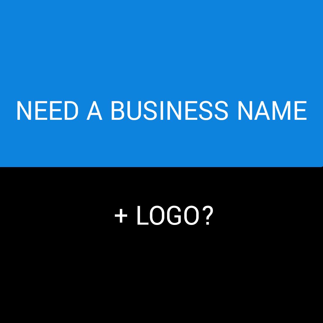 BUSINESS NAME + LOGO