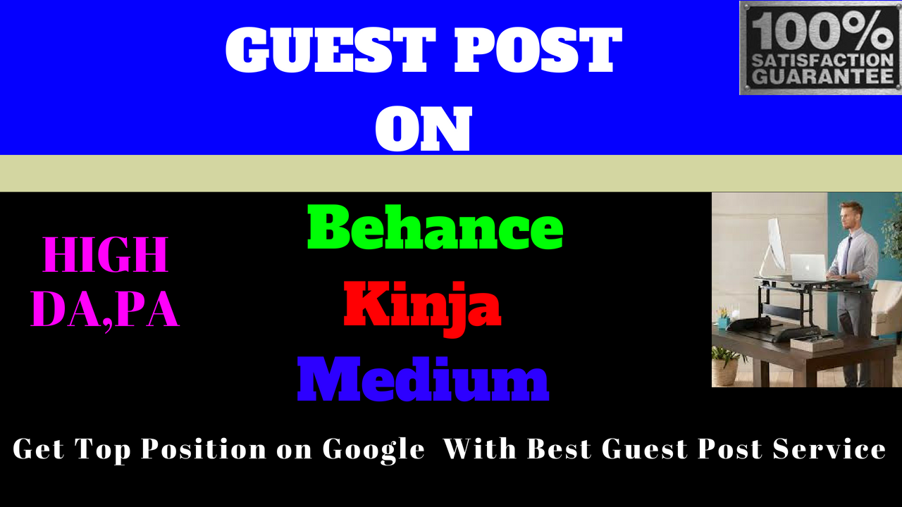 write and publish high quality guest post on business related websites