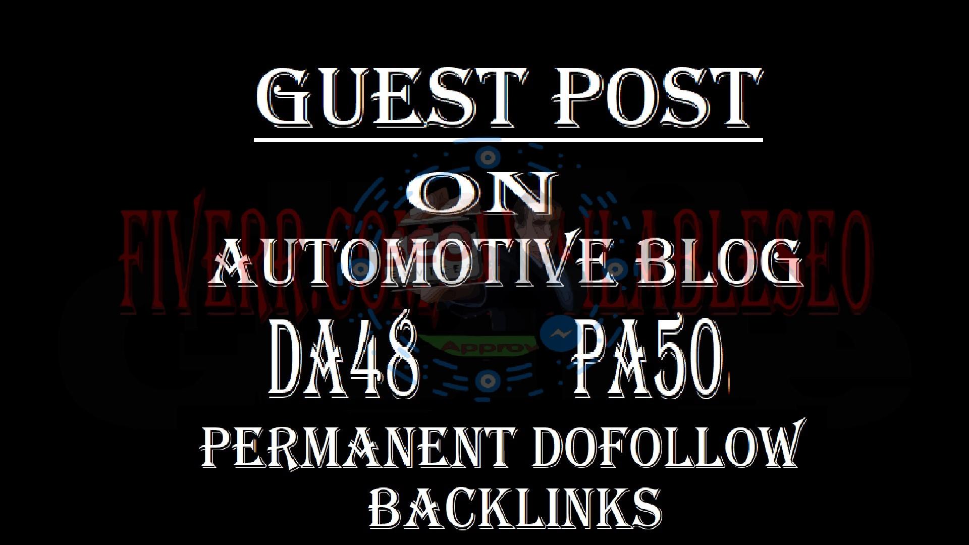 Do Publish Guest Post On Auto Blogging Site cardomain. com Da77