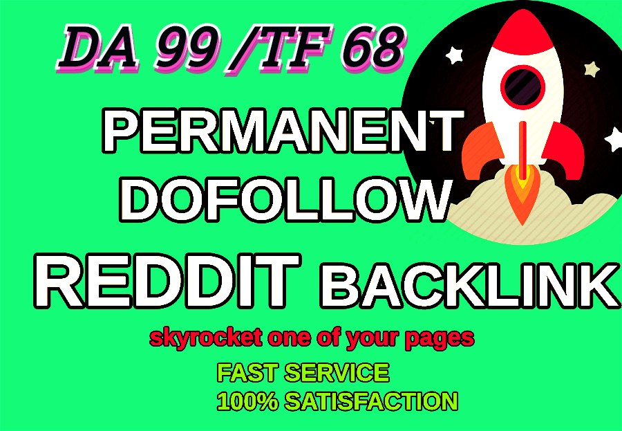 Powerful Niche Related 10 Sub-Reddit High Quality Backlinks For Your Sites.