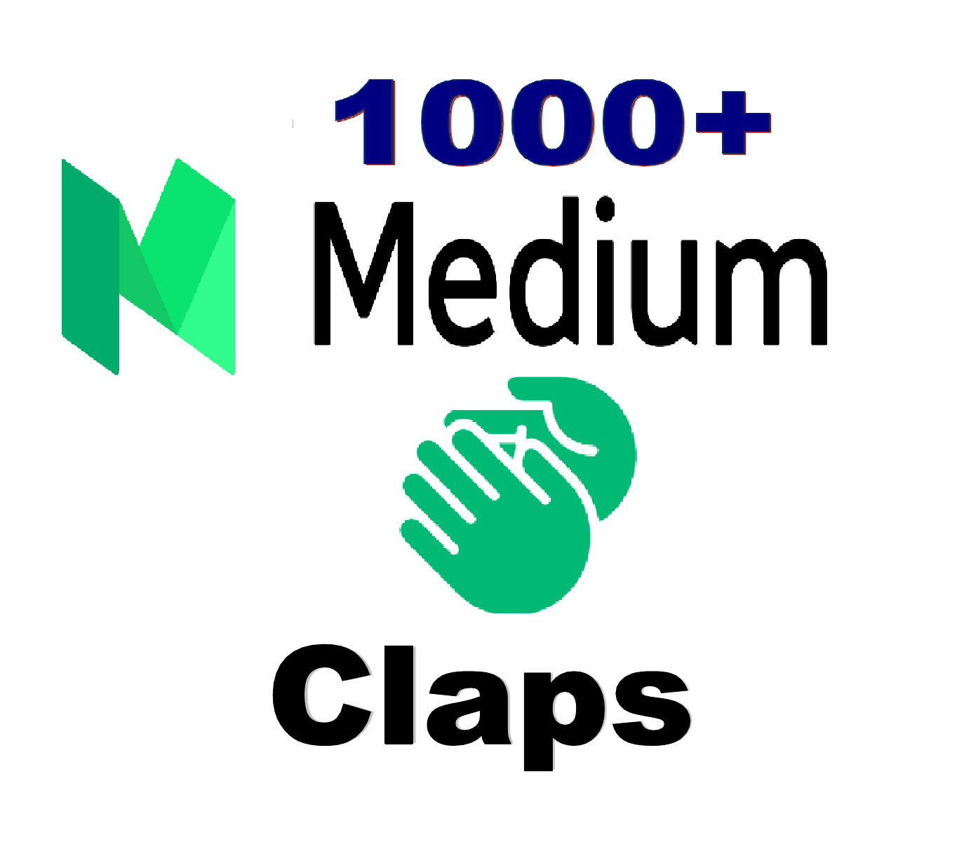 I Can Provide 1000 Medium Claps To Your Post