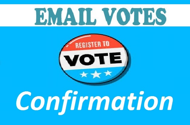 Grow up 100 signup or registration with email confirmation votes from different ips