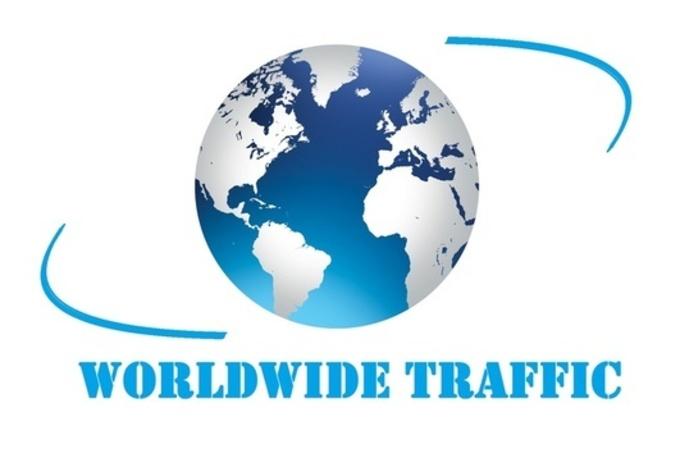 real 100,000 Worldwide Traffic Website for