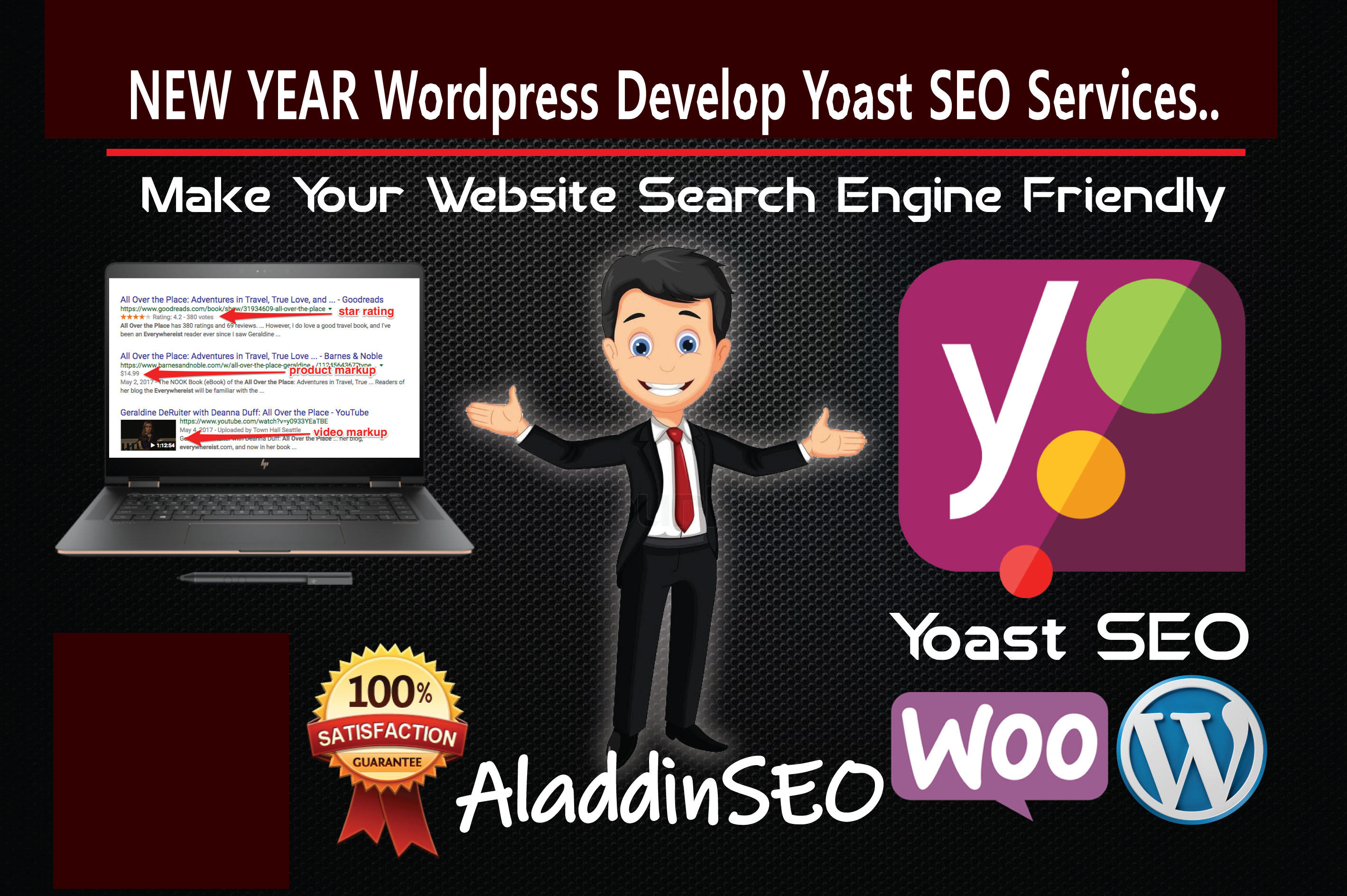 Google Development & Top Page Ranking Only AladdinSEO