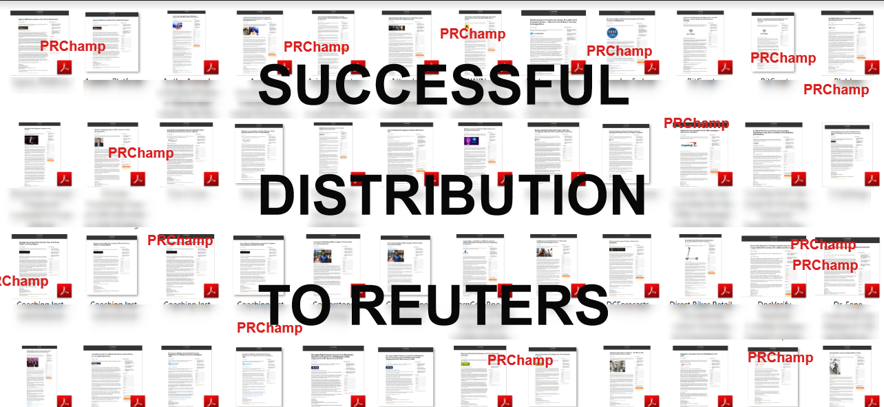REUTERS Press Release Distribution Service, Dofollow links