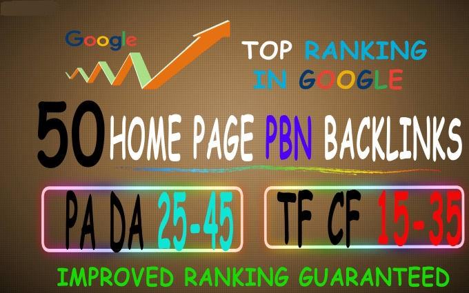 create high quality 50 dofollow pbn backlinks upto 42 da
