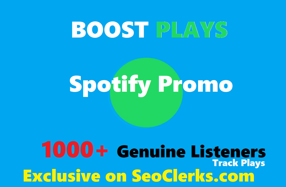 Add Your Track To Spotfy Playlist to boost streams, ...