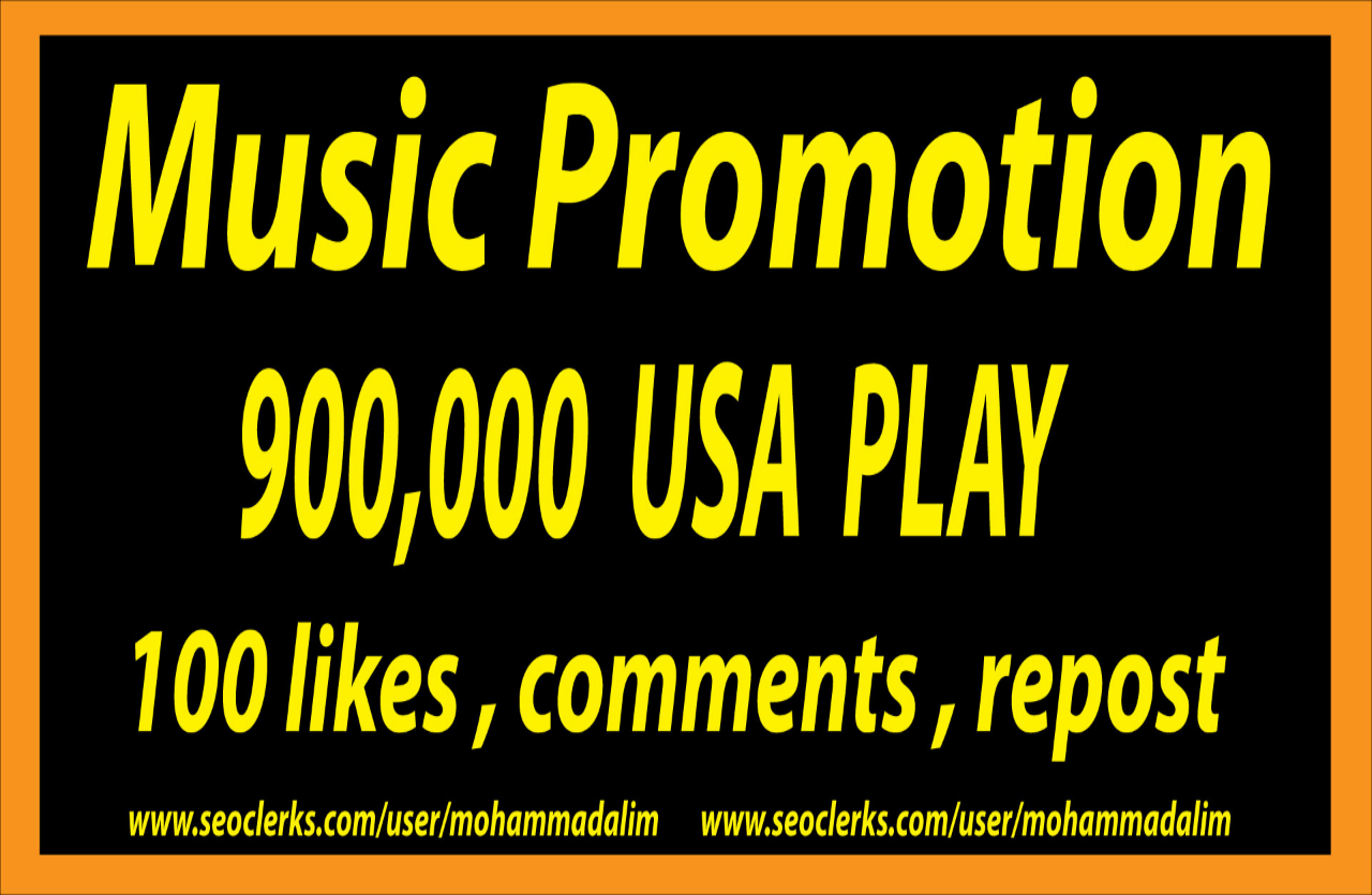 Get Instant Music promotion Marketing