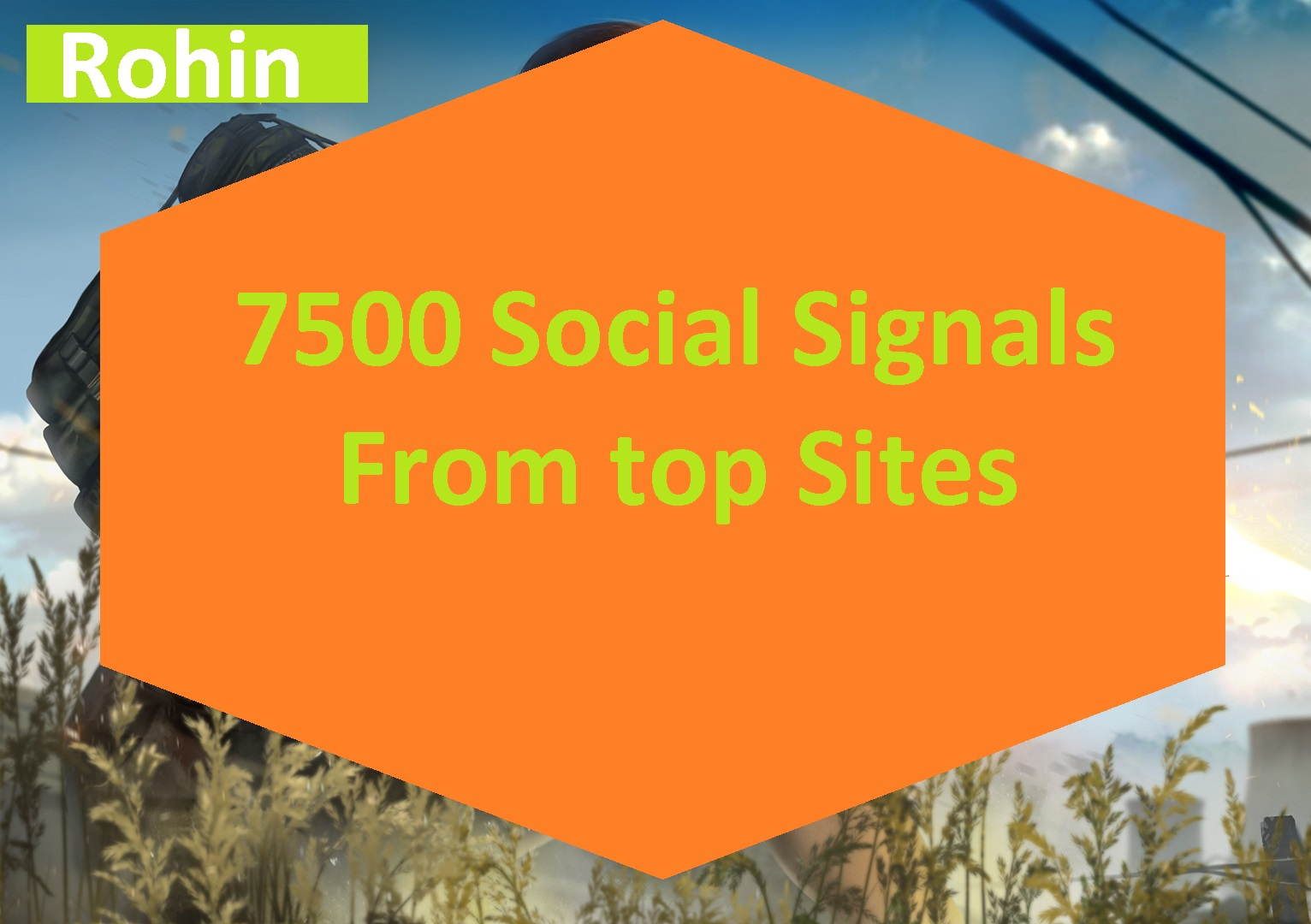 7500 Real SEO Social Signals from top 4 sites Tumblr xing pinterest social bookmark