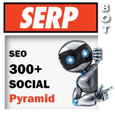 Social Skills PYRAMID - 300+ backlinks loved by Google Social Network SEO