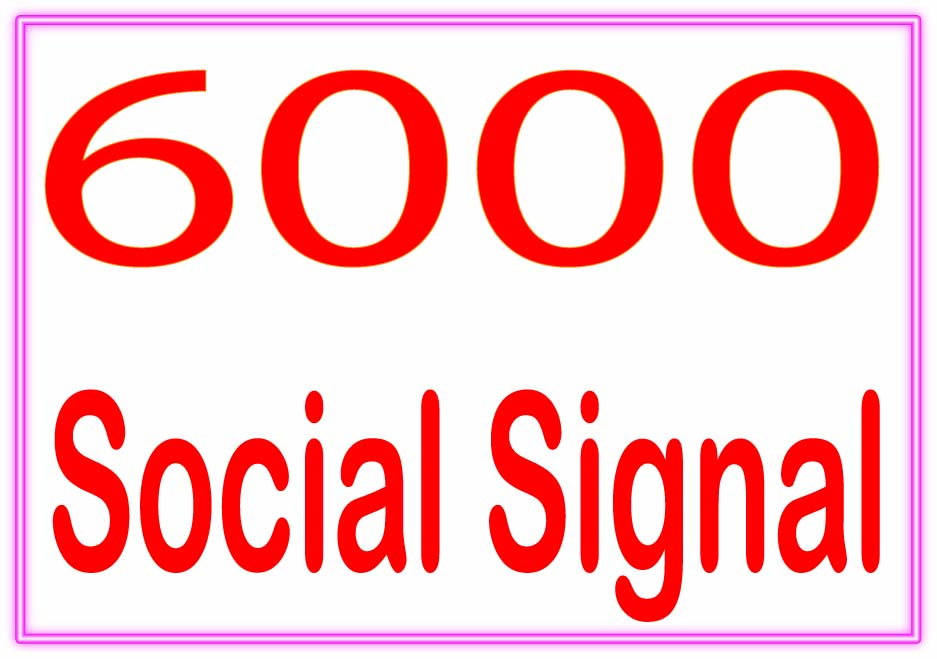 DO Create 6000 Social signal PR6 to PR10 Backlinks and rank higher on Google