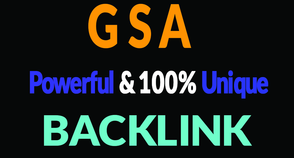 3 Millions+ GSA SER SEO Verified BACKLINK