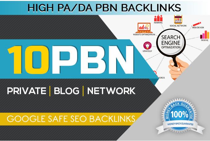 posts 10 manual high metrics dofollow pbn backlinks promtoion