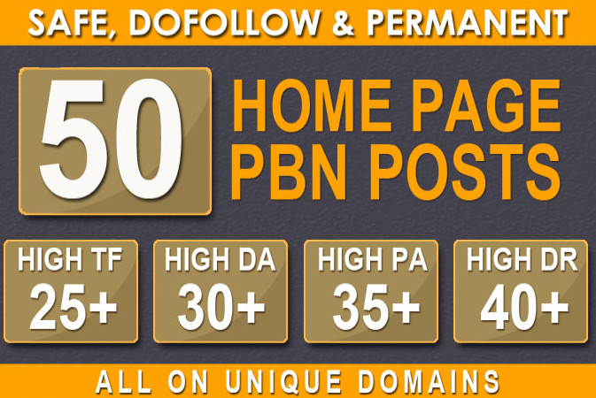 quality 50 pbn posts dofollow backlinks to website improving ranking