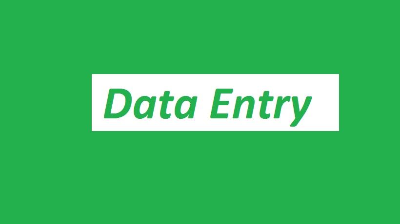 Dataentry, data analysis, data mining, excel formu...
