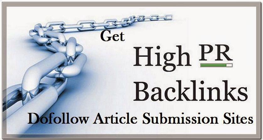 Generate manually 30 high PR article Posting