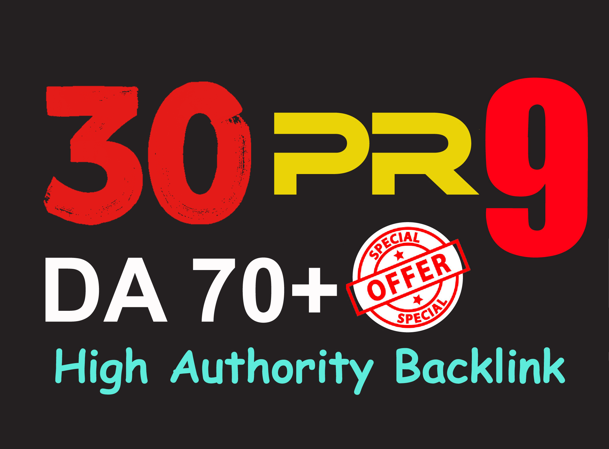 Exclusively-30 Backlinks 80+ DA Manually do Safe SEO Increase Google Ranking