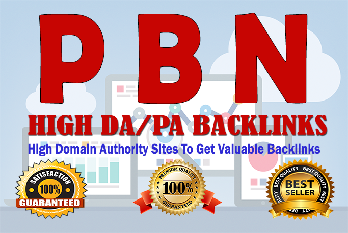 DA 20 to 30 Manually Build 20 UNIQUE HOMEPAGE PBN backIinks