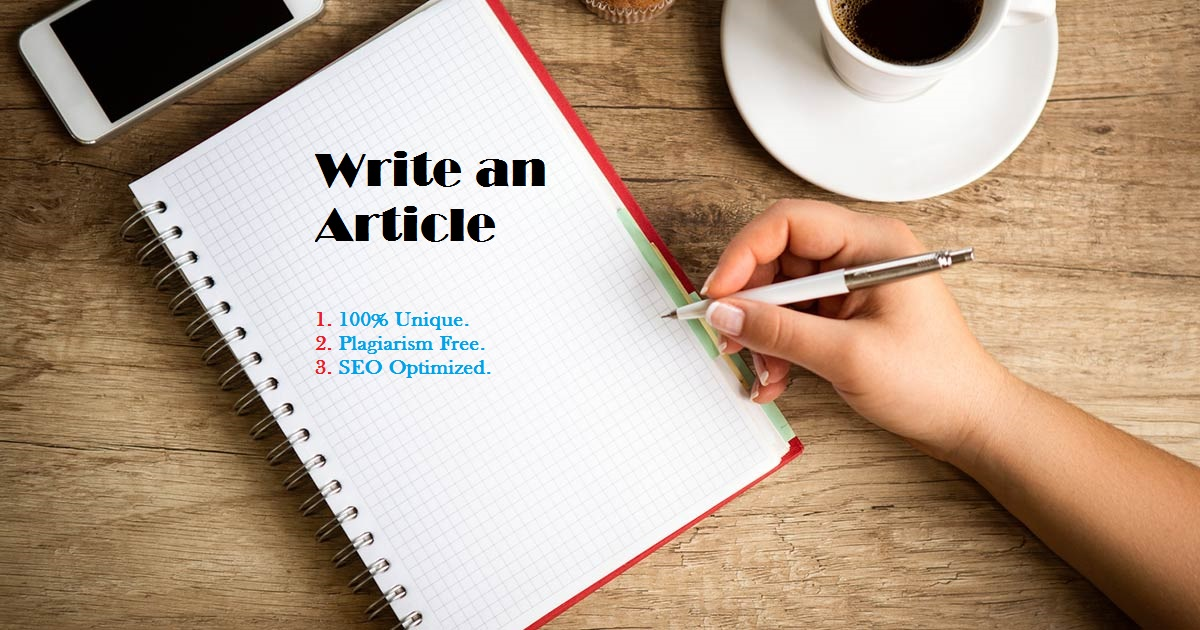 Get A Well Written, Unique and Optimized Content for SEO