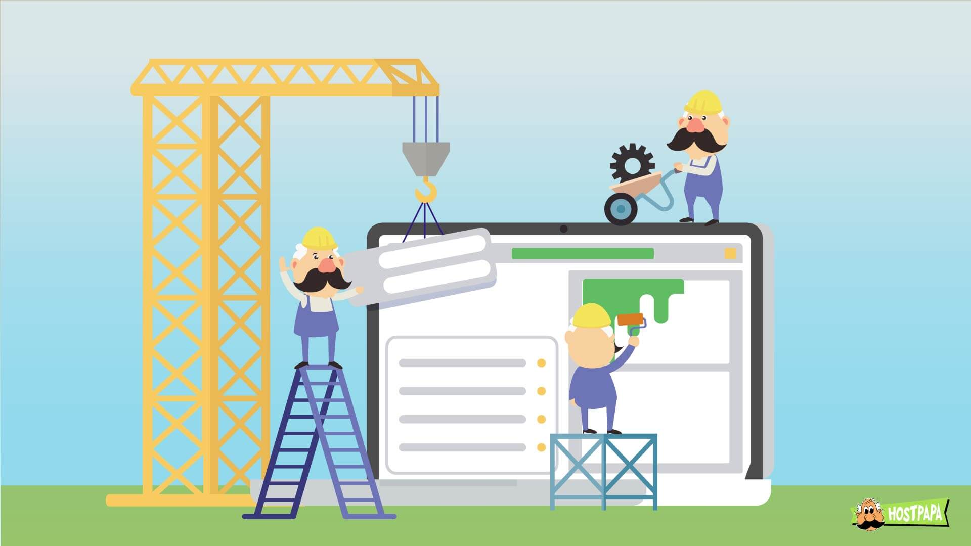 Build the best website