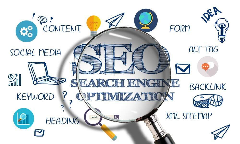 SEO of your website White hat SEO with ranking improvement