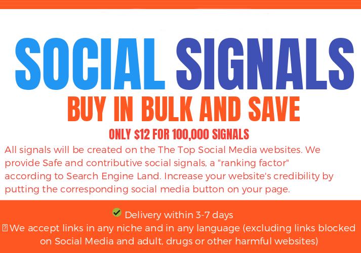 60.000 SOCIAL SIGNALS