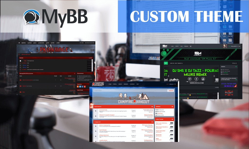 MyBB Custom Theme Creation