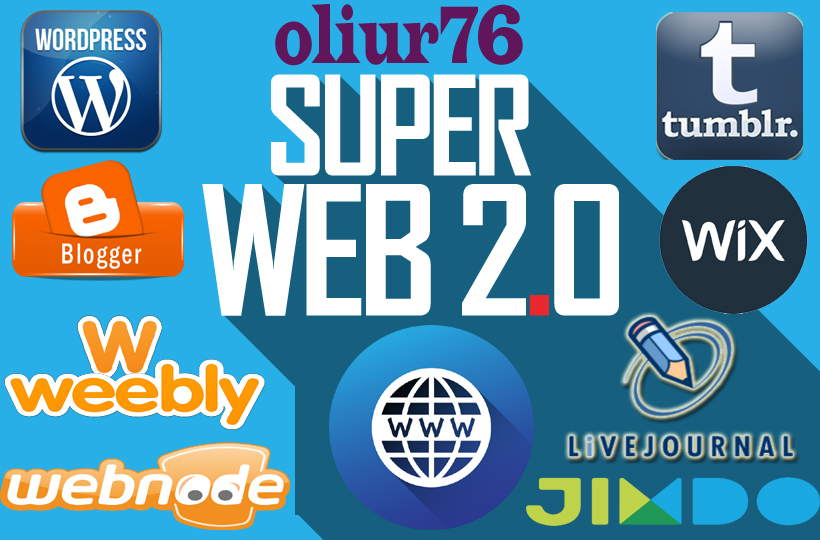 make 15 Web 2 Contextual Backlinks With Access Details