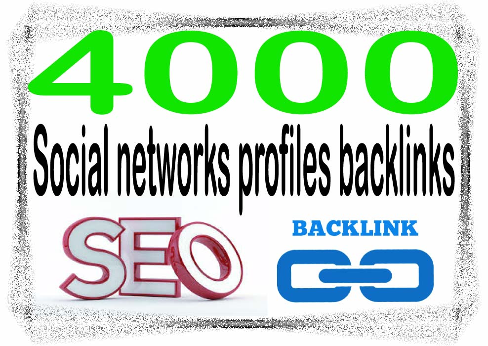Create 4000 Social networks profiles Highest Quality ...