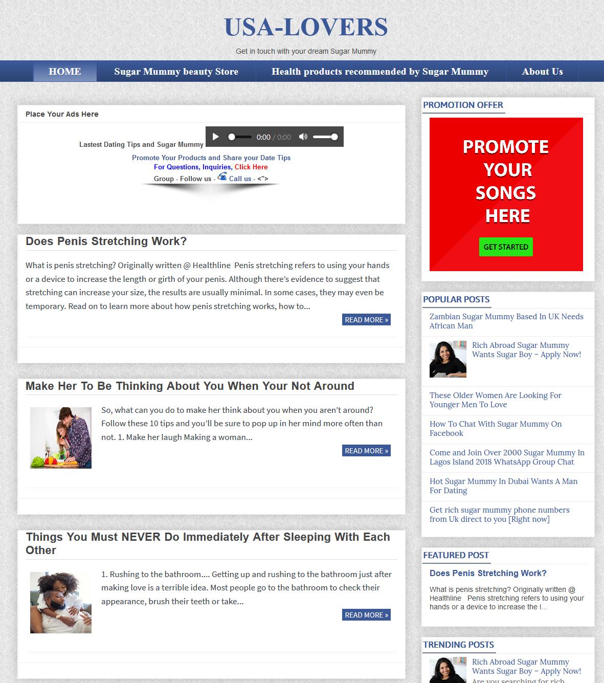 Premium Blogger theme and mobile friendly