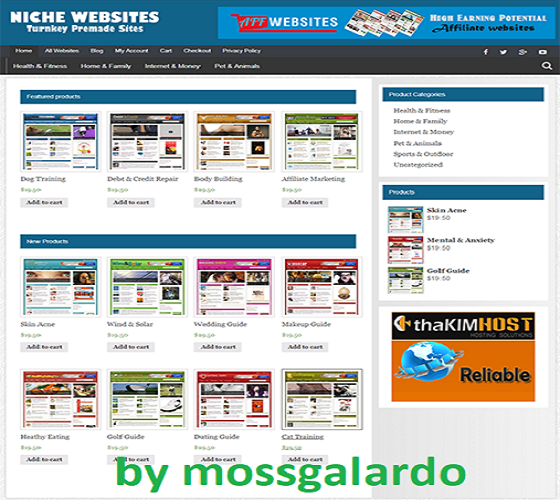 NICHE WEBSITE RESELLER - 100 Autopilot & Newbie Friendly - 25 Websites Included