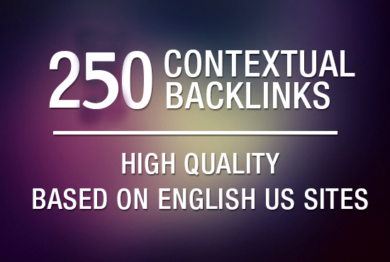 boost your google rankings quickly with 250 High Quality Contextual Backlinks.