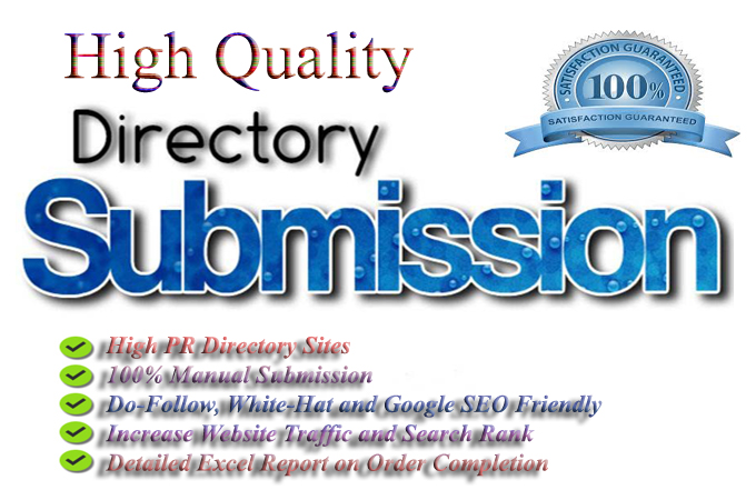 Give You manually 40 Directory Submission