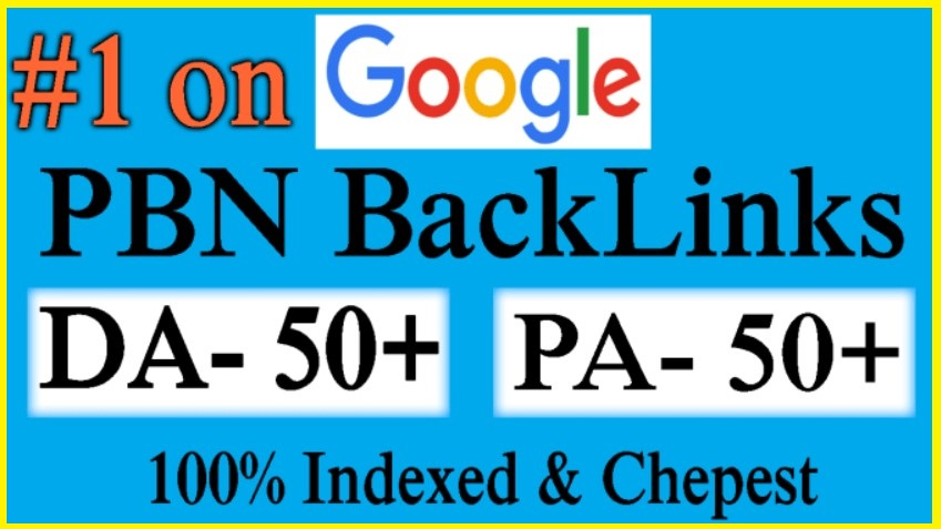 20 High Metrics Manually PBN DA/PA 50+ GOOGLE Fast Ranking