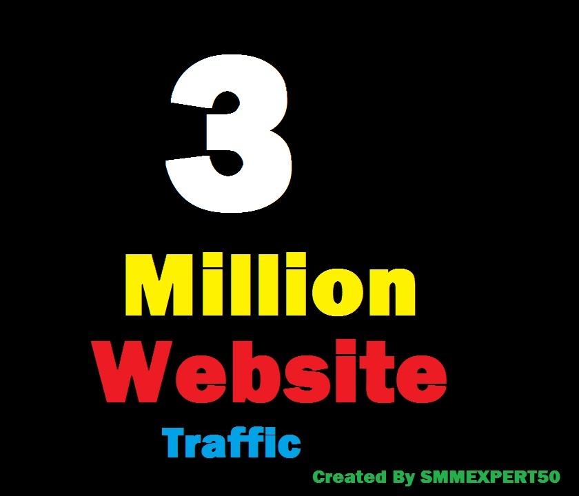 3 Million Worldwide site Traffic Visitors For Online Digital Marketing & Business Promotion Boost SEO Website Rank & Share Bookmarks Improve Google Ranking Factors