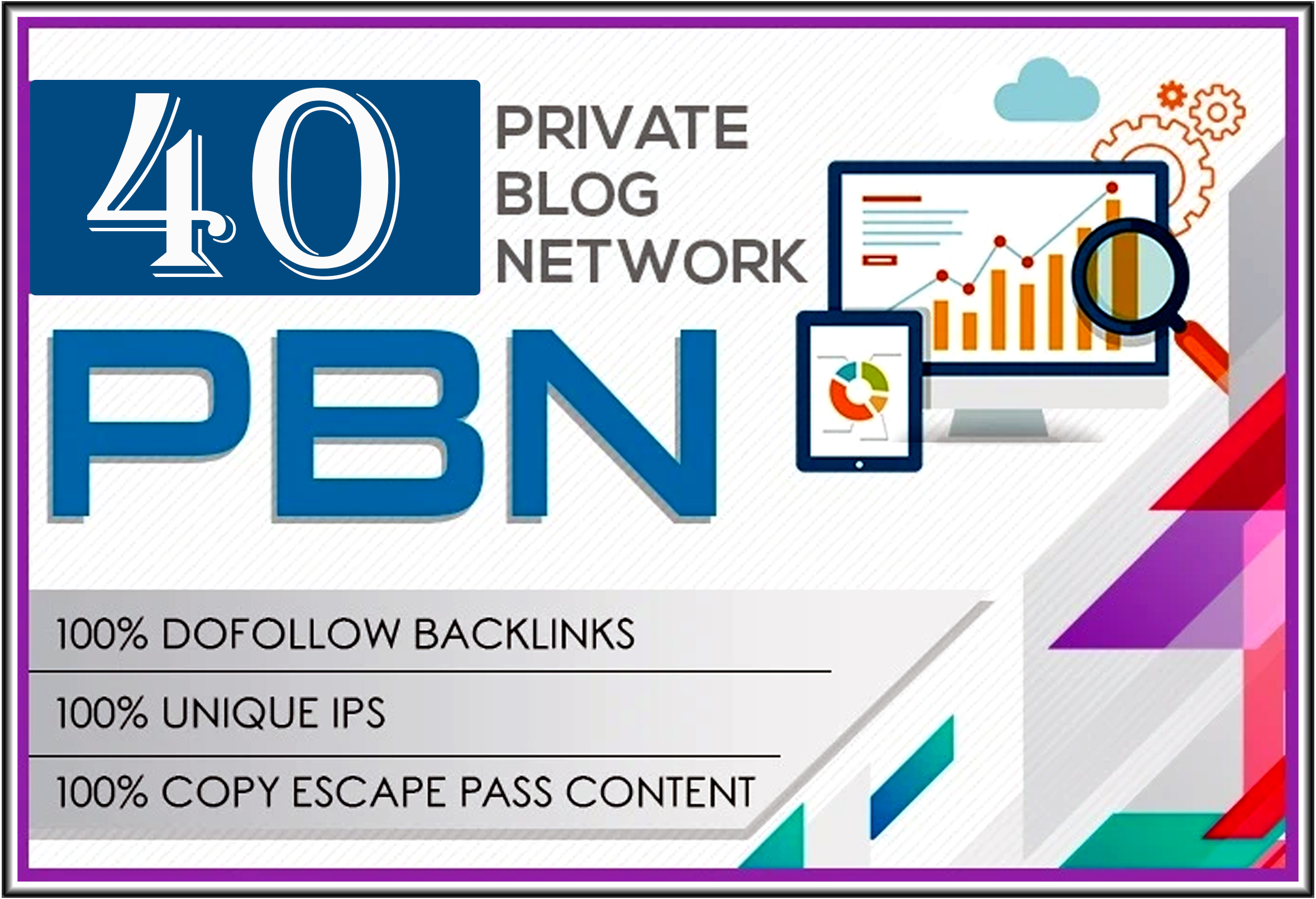 Do 40 high metrics pbn posts contextual backlinks