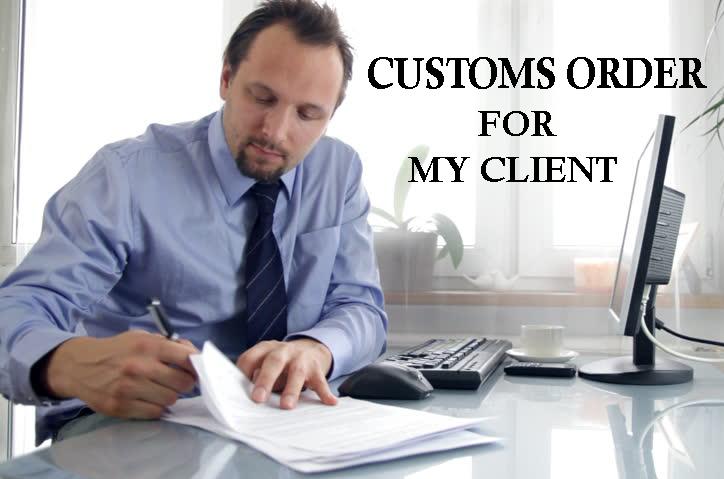 Custom Order For My Best Client