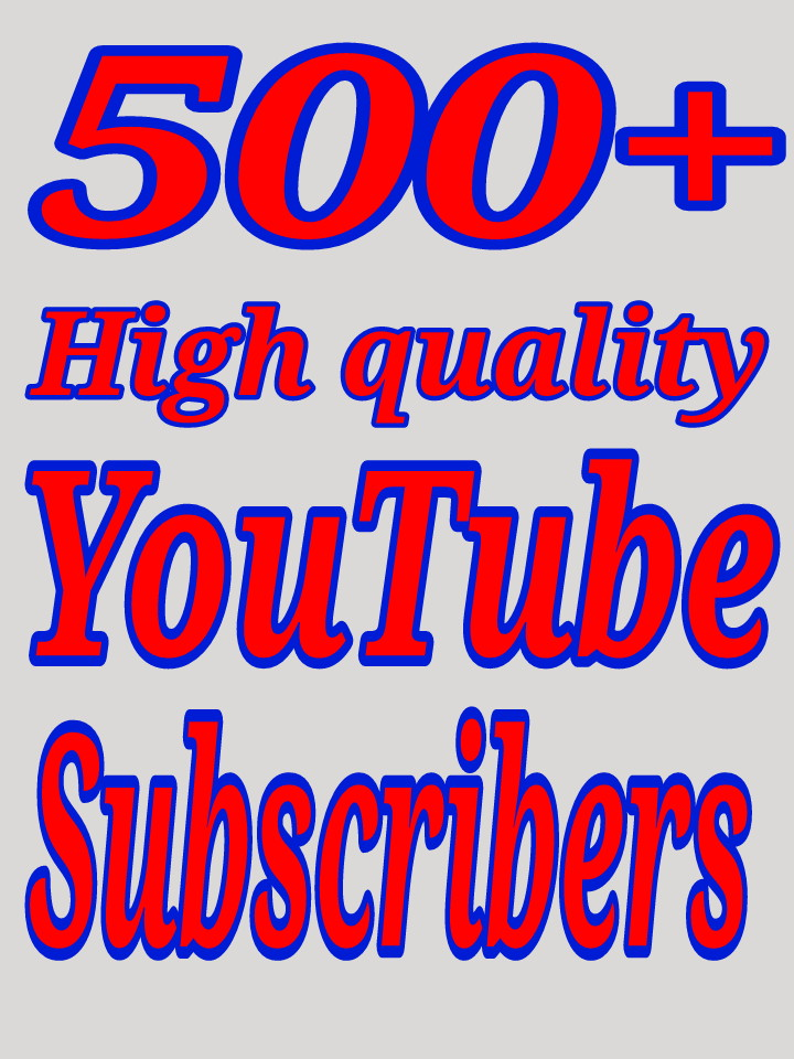 High quality YouTube promotion via real users with fast delivery