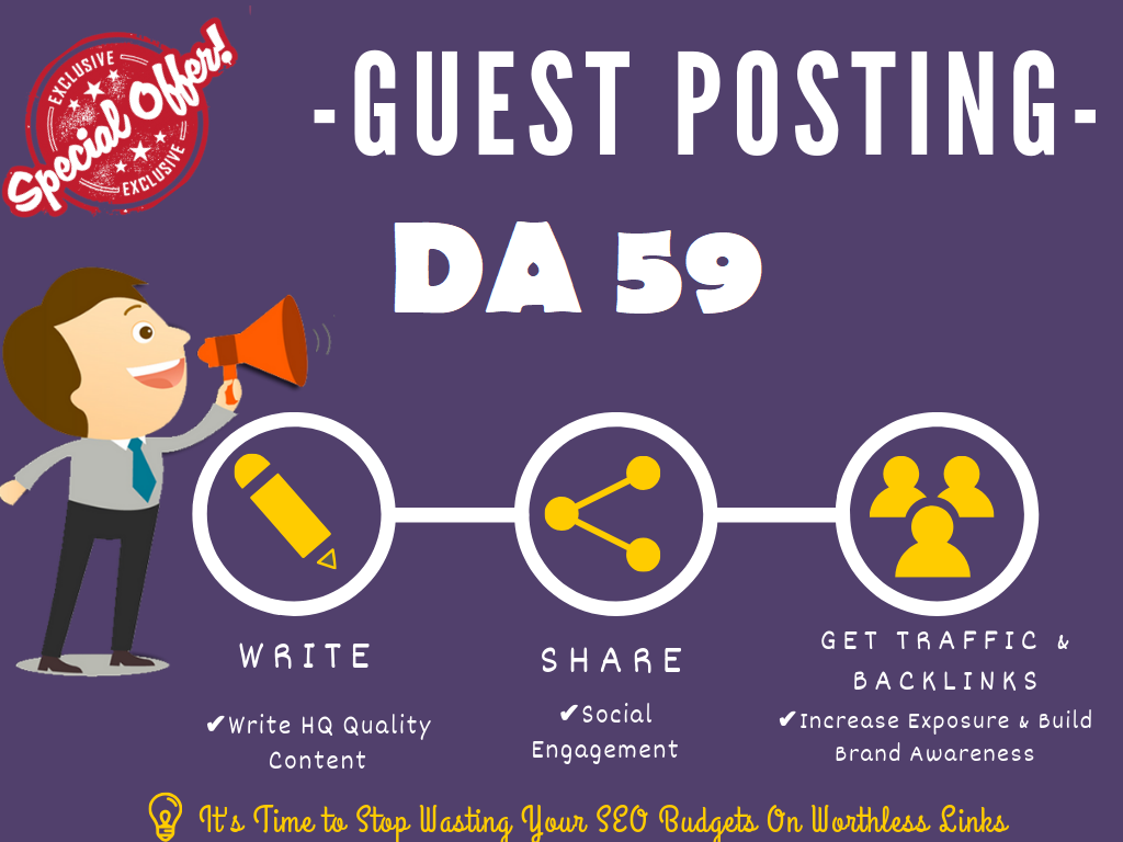 guest post on my google news approved da 59 news blog with dofollow Limited offer