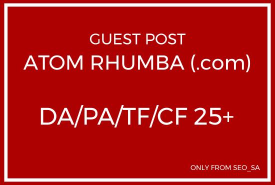 Manually Create Guest Post on Atom Rhumba. com